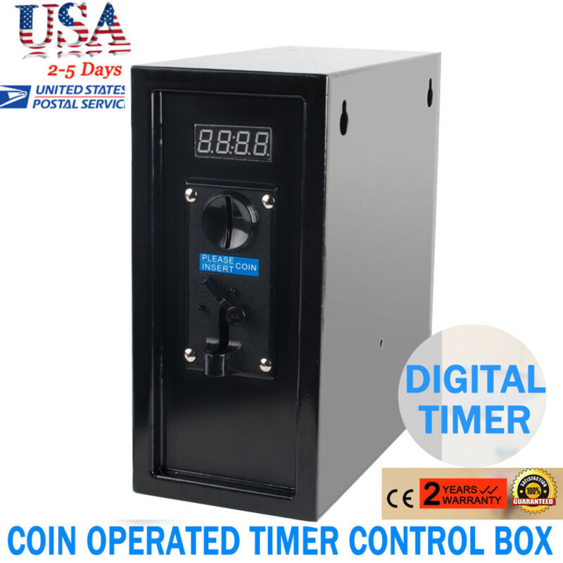 Durable Coin Operated Timer Control Power Supply Box Electronic Device From US