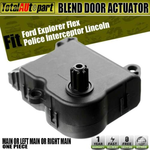 Air Door Actuator fit for for Ford Explorer Flex Police Interceptor Sedan Special Service Police Sedan Taurus for Lincoln Mks MKT Replace AL3Z19E616A-HVAC Blend Control Temperature