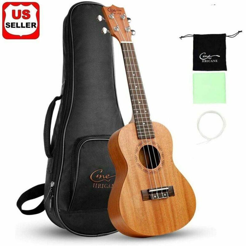 BRAND NEW Hricane Solid wood Professional Ukulele Kit With Standard Carry Bag US