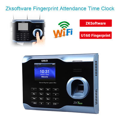 Zksoftware U160 Biometric Fingerprint Time Attendance Time Clock Professional