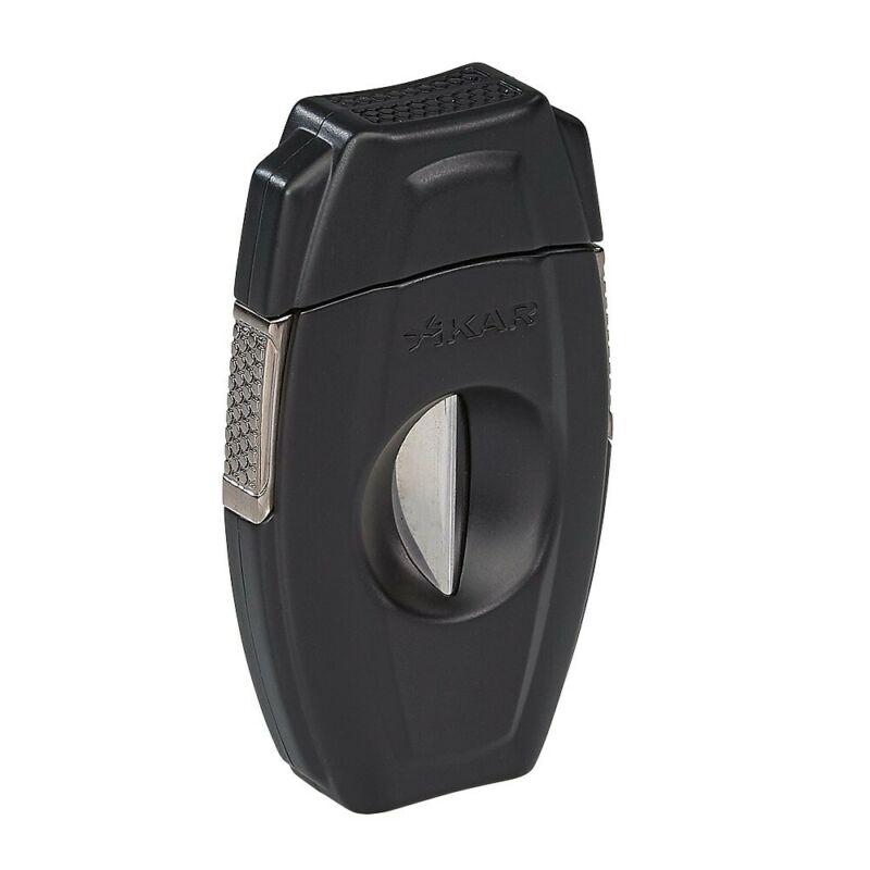XiKAR VX2 157BK V-Cut Black Cigar Cutter Lifetime Warranty by Xikar - New