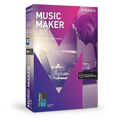 Magix Music Maker Live Software  Download