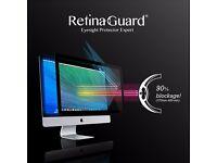 "RetinaGuard Anti-UV, Antiblue Light Screen protector for iMac 21.5"" Blocks Excessive UV & Blue Light"