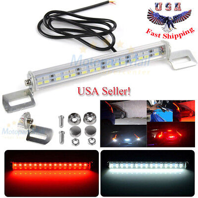 White 24-SMD Bolt-On LED Lamps For License Plate Lights or Backup Reverse (Avalon Mall)