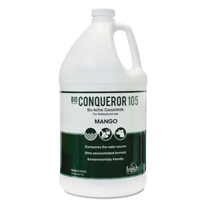 Fresh Products Bio Conqueror 105 Enzymatic Concentrate, Mango, 1gal, Bottle, 4/c