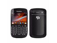 Blackberry Bold 9900 Black (Unlocked) Smartphone in good condition