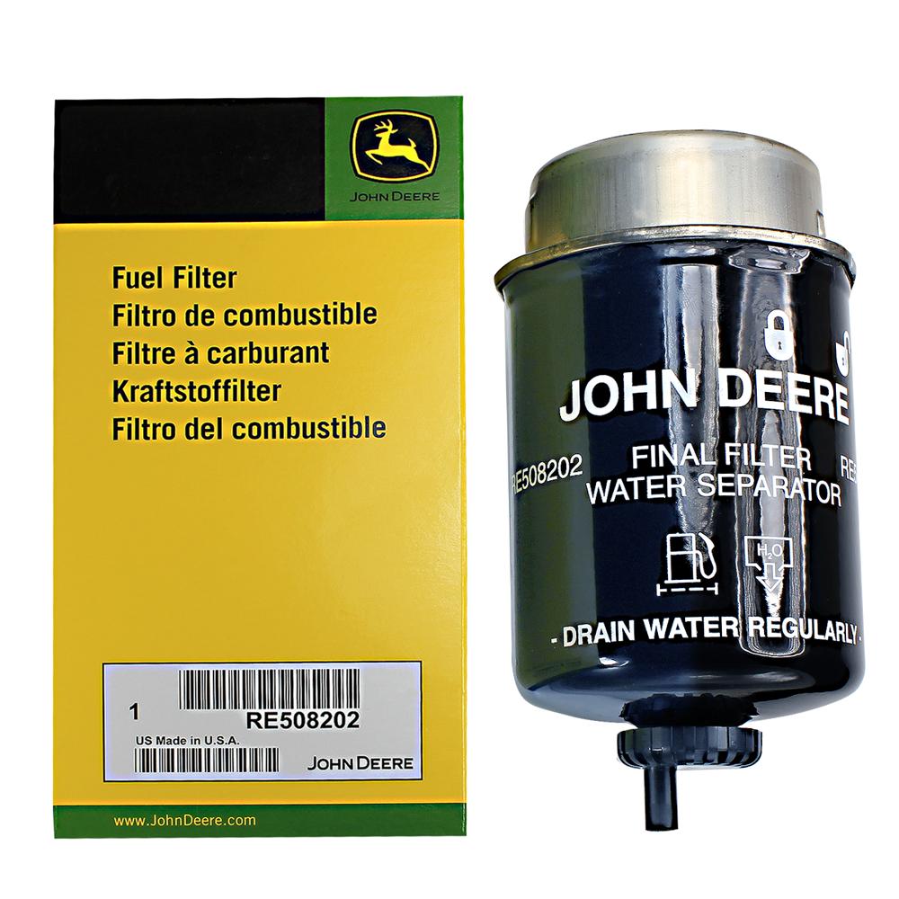 John Deere Original Equipment FUEL FILTER #RE508202