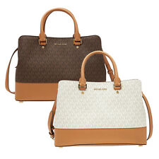 Michael Kors large Savannah Satchel - Choose color