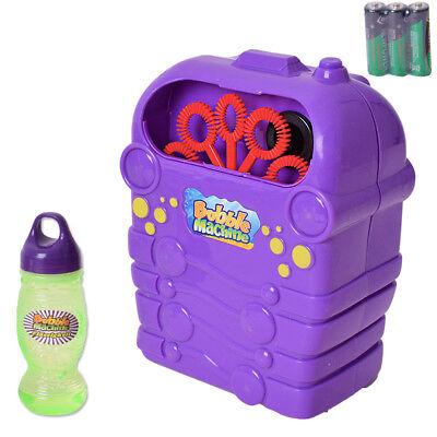 Máquina de Burbujas Bubble Máuina Boda Niños Fiesta Dj Rellenador