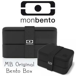 New  Monbento 3760192681766 MB Original Bento Box-Black Condition: New, damaged package, missing the band