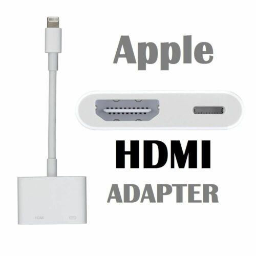 Apple Lightning Digital AV Adapter HDMI for IPHONE IPAD MD826AM/A SHIPS TODAY!!!