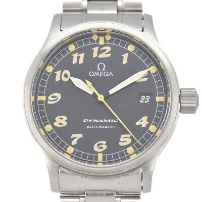 Auth OMEGA DYNAMIC Date 5200.50 Cal.1108 Automatic Men's Watch A#94340