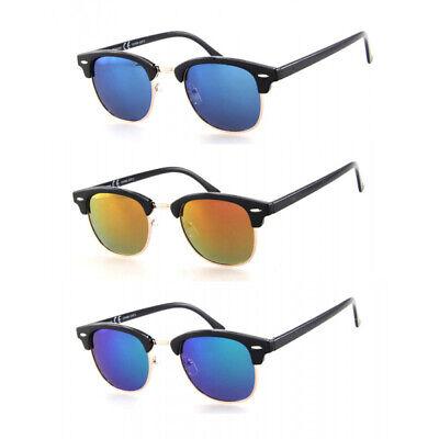 Polarisierte Classic Club Way Retro Sonnenbrille Herren Master + Schutztasche BM