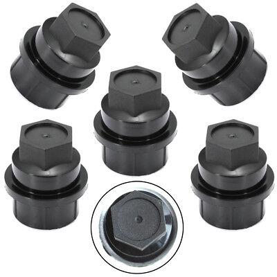 5x useful Black Lug Nut Cover Fit Chevrolet GMC Silverado Suburban Sierra -