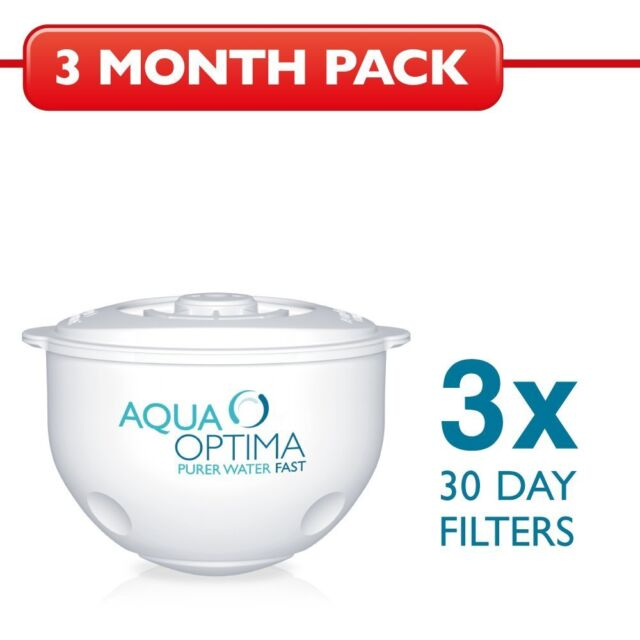 3 x Aqua Optima Water Filter Cartridge - 3 months - 90 Days - New