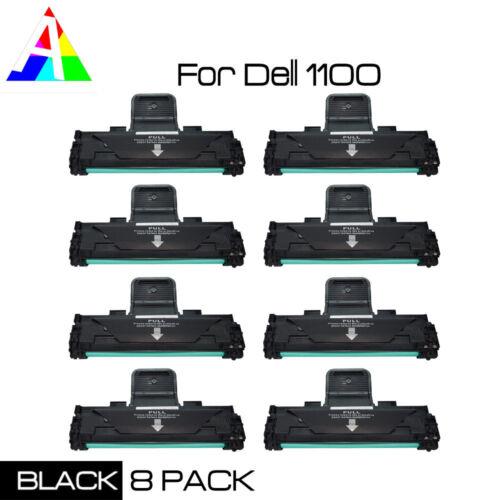 8 pk black toner cartridge compatible