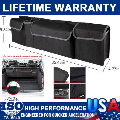High Capacity Multiuse Car Trunk Seat Back Organizer Bag Interior Accessories US