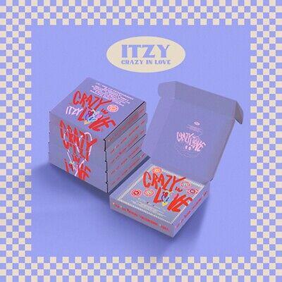 ITZY 1st Album [CRAZY IN LOVE] Random Ver. CD+Book+Lyric+Card+Polaroid+Pre-Order