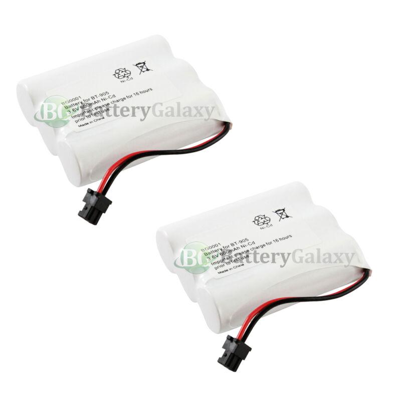 2 Home Phone Battery for Uniden BT-800 BT800 BP-800 BP800 BT-905 BT905 4600+SOLD