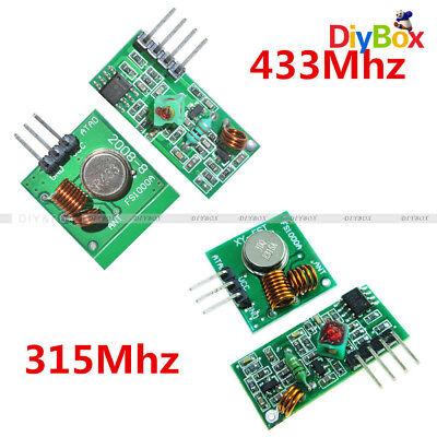 15pcs 315433 Mhz Rf Transmitter Receiver Wireless Module For Arduino Armmcu