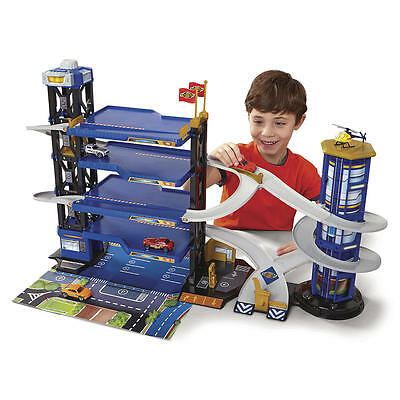 Fast Lane Multi-Level Parking Garage Playset