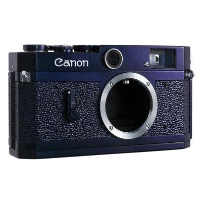 CANON P RF FILM CAMERA REPAINTED GLOSSY CHROMAFLAIR BLUE PURPLE / CLA'D / 90D W