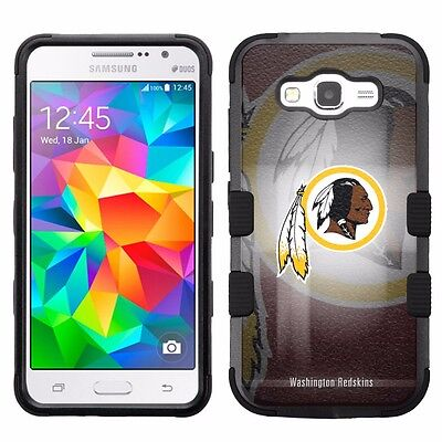 For Samsung Galaxy Go Prime G530a Impact Hybrid Cover Case Washington Redskins