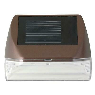 Solar Powered Mini LED Deck Light / Step Light, Bronze Finish **BRAND - Led Mini Deck Light