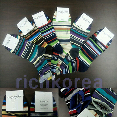 6pairs Socks Lot Adult Womens Mens shoes Cotton dress casual Crew ankle Korean