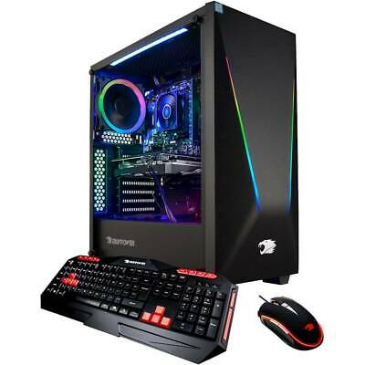 iBUYPOWER Trace Gaming Desktop AMD Ryzen 7 3700X 16GB 1TB 240GB SSD GTX 1660 Ti