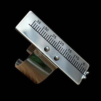 1pc Endo Endodontic Stainless Steel Finger Rulers Endo Measuring Scale Dental