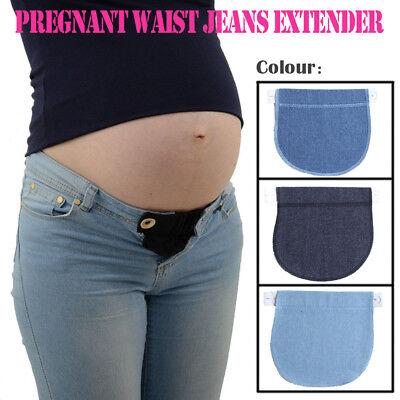 Maternity Pregnancy Waistband Belt Elastic Waist Extender (Elastic Maternity Belt)