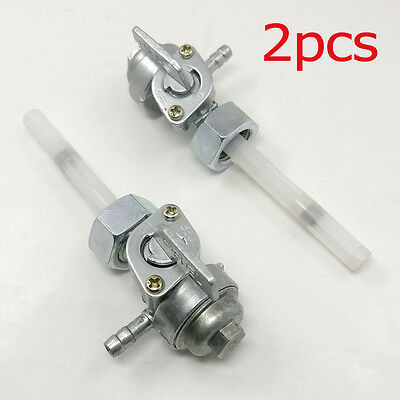 2pcs Coleman Powermate Generator Gas Fuel Valve Petcock Switch Assembly