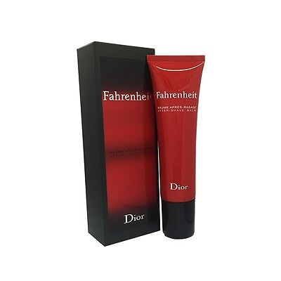 Christian Dior Fahrenheit After Shave Balm 70ml 2.3oz Mens New in Sealed !!
