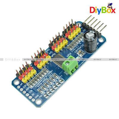 16 Channel Pca9685 Shield 12-bit Pwm Servo Motor Driver I2c Module For Arduino