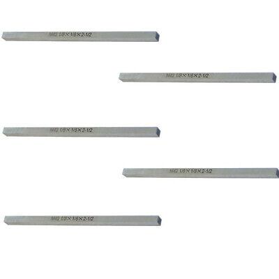 5 Pc Lathe Tool Bit Steel Fly Cutter Milling Hss 18 X 18 X 2-12 M42 Square