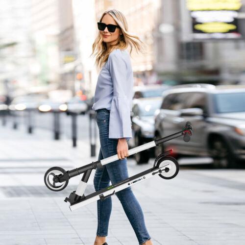 Megawheels WHITE Electric Scooter BIRD Ultralight Skateboard