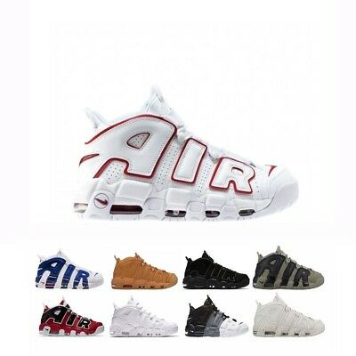 (Nike Air More Uptempo '96 Men Shoes 921948-002 921948-001 921948-101)