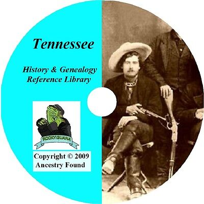 76 Old Books History   Genealogy Of Tennessee Early Tn