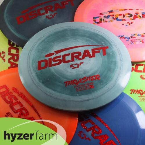 Discraft ESP THRASHER *pick weight & color* Hyzer Farm disc golf driver PART ONE