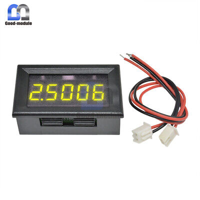 Yellow Led 5 Digit Dc 0-4.3000-33.000v Digital Voltmeter Voltage Meter Car Panel