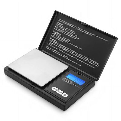 Pocket Scales Digital Portable Milligram Weights Jewelry Gold Gems 200g x 0.01g