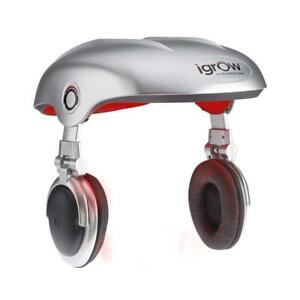 NEW iGrow Hands-Free Laser LED Light Therapy Hair Regrowth Rejuvenation System Condtion: Like New