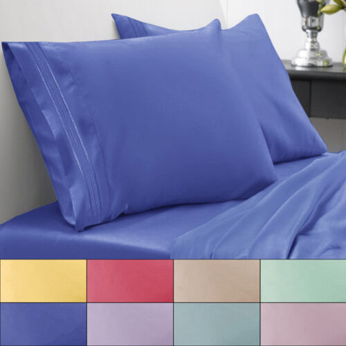 1800 Thread Count Bed Sheet Set Brights Sweet Home Spring/Summer Collection Bedding