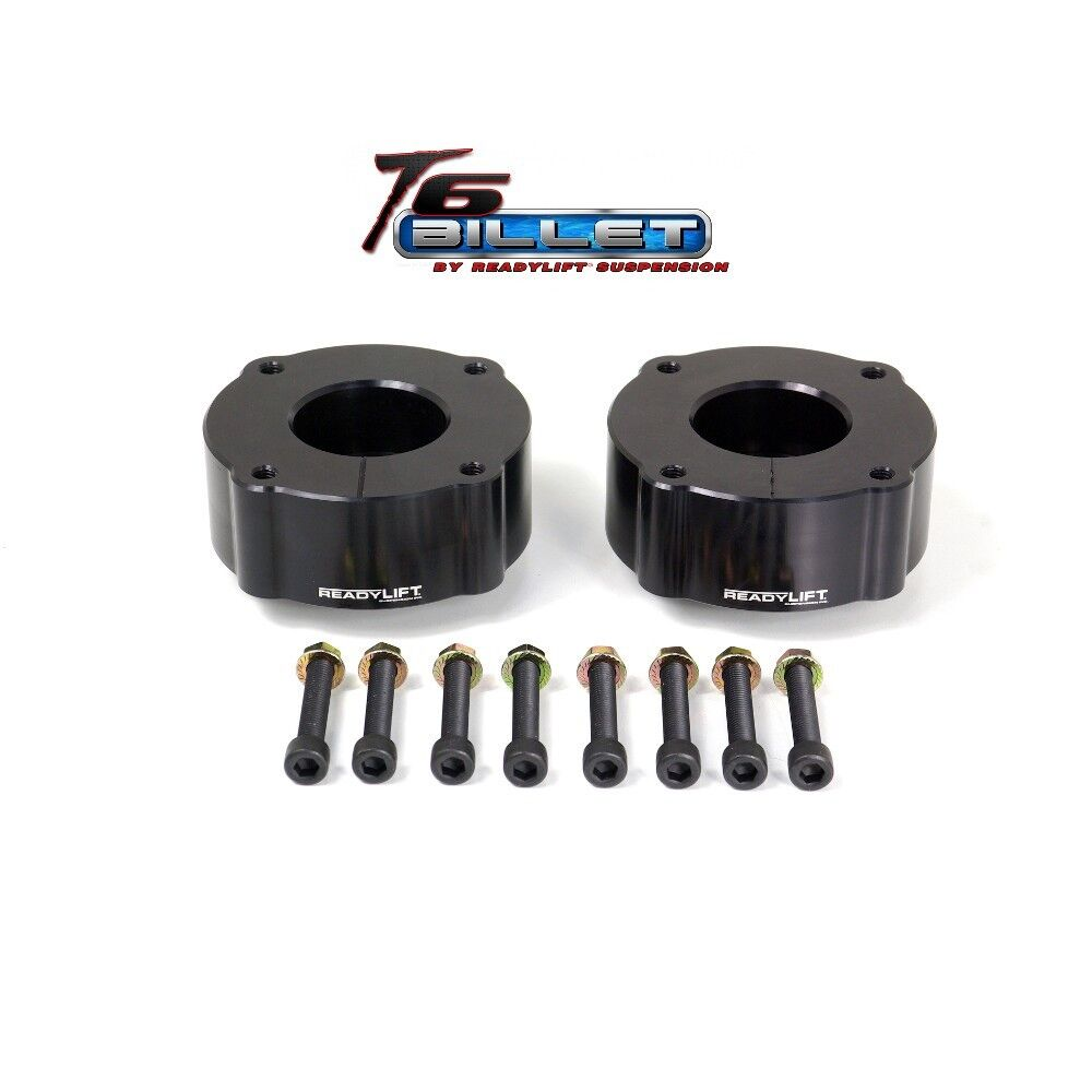 ReadyLift T6-5075K T6 Billet Black 2.5 Leveling Kit for Toyota Tundra 2007-2011