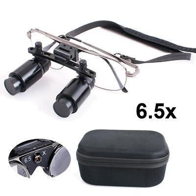 6.5x R300-500mm Dental Loupes Surgical Medical Binocular Optical Glasses Zoom