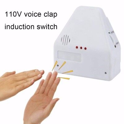 Clapper Hands (The Clapper Sound Activated Switch On/Off Clap Electronic Gadget Hand EU Plug)