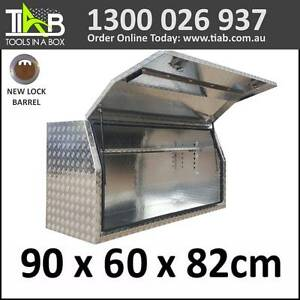 Aluminium Side Full Opening Toolbox Truck Ute Trailer Box 968FD Melbourne CBD Melbourne City Preview