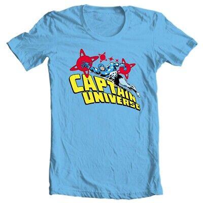 Captain Universe T Shirt retro Marvel Comics vintage 70s Micronauts graphic tee  70 Vintage Retro T-shirt