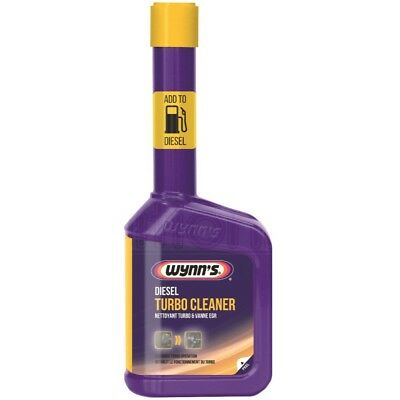 Wynns Diesel Turbo charger Vane EGR Cleaner Restores Valve Treatment 325ml